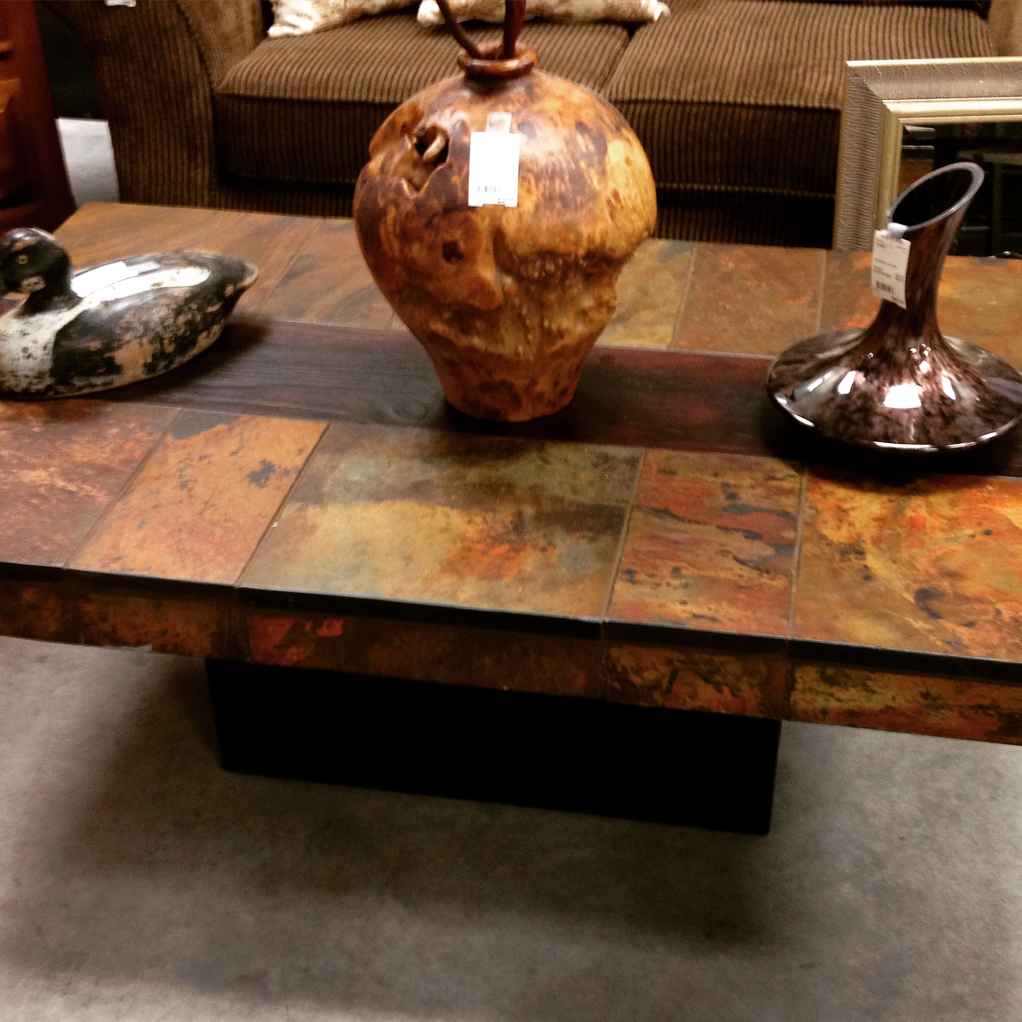 30 x 48 tiled coffee table sold designsbyconsign for Coffee table 48 x 30