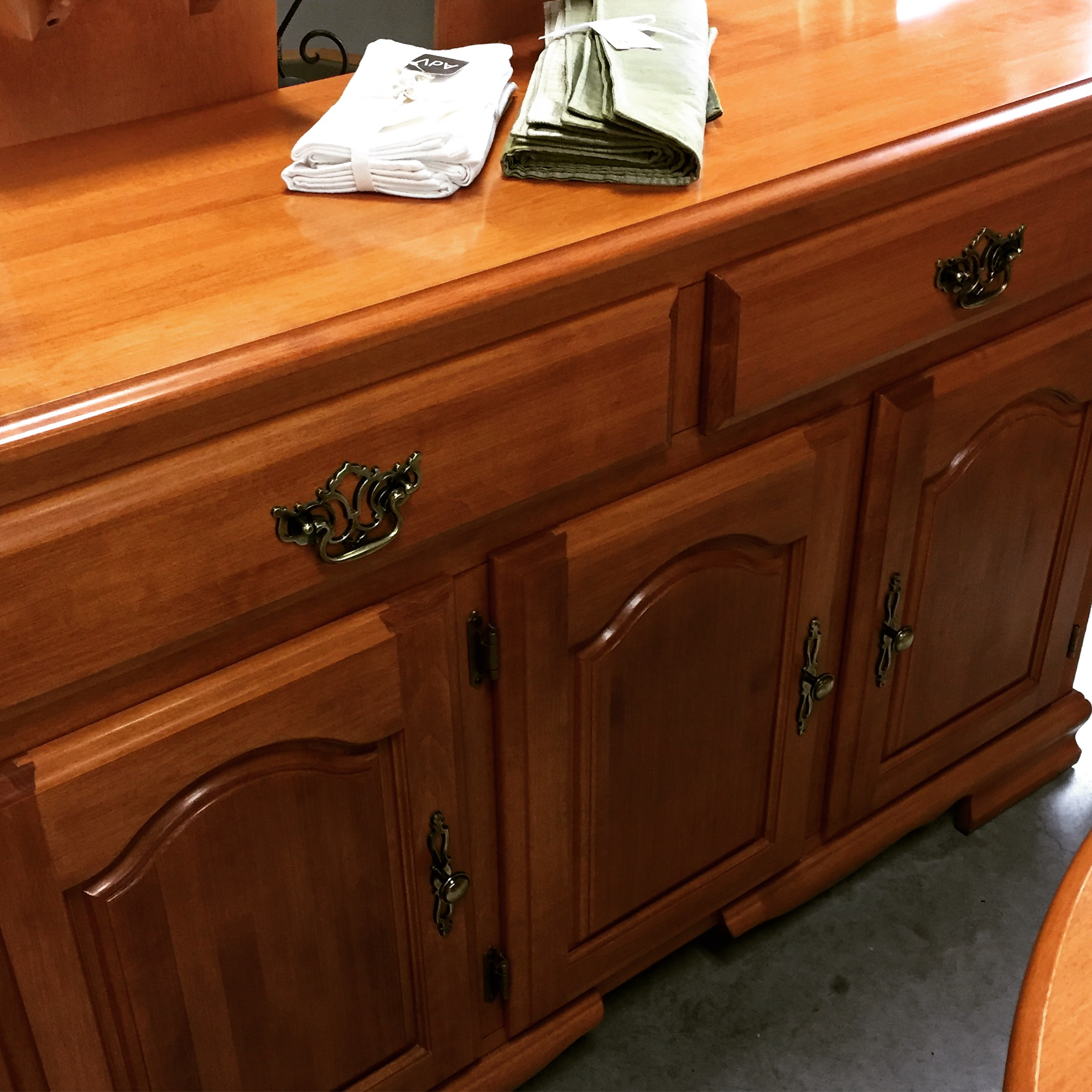 52 L X 27 D X 33 H Roxton Maple Sideboard SOLD Designsbyc