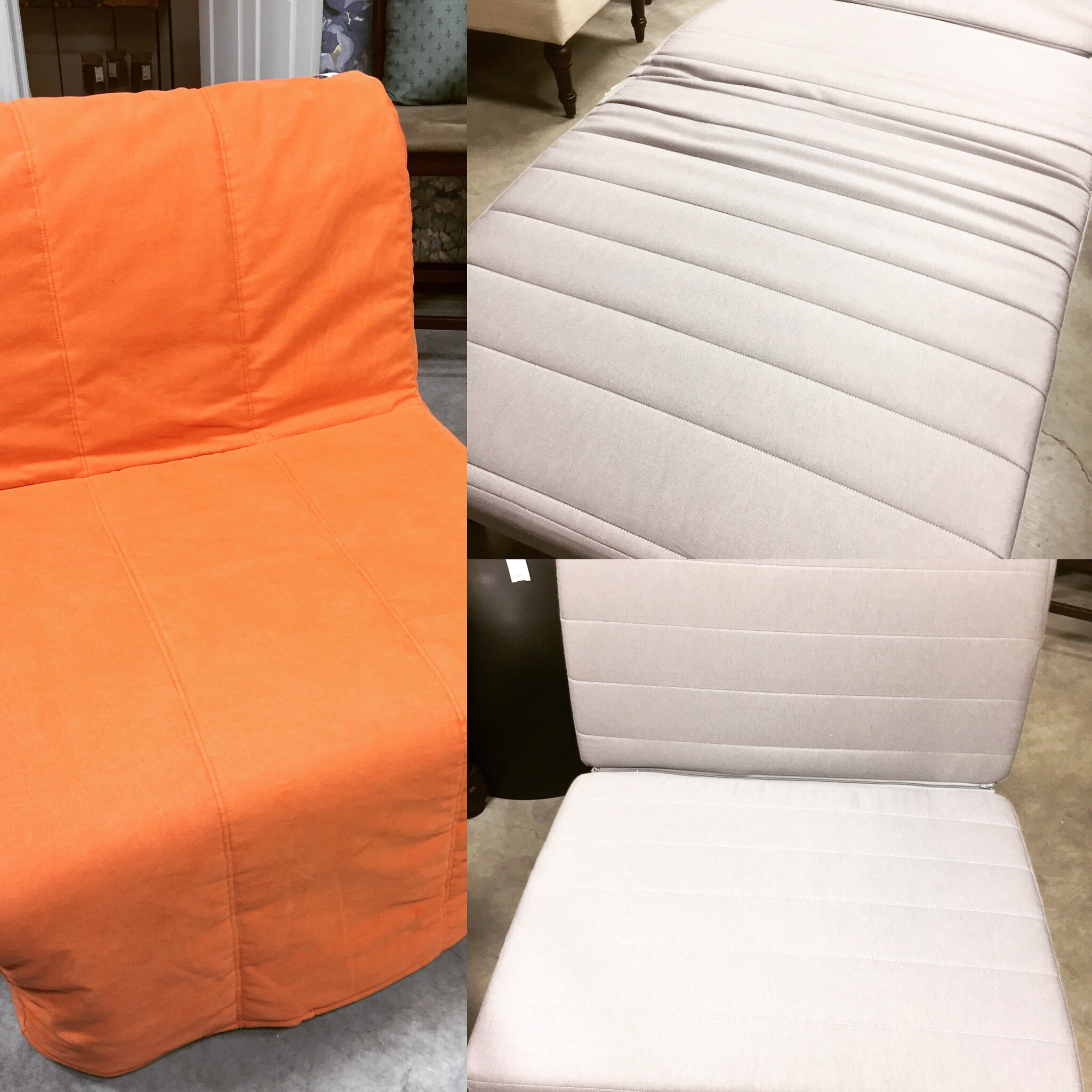 Ikea Lycksele Chair Bed C W Slipcover Storage Box Sold Designsbyconsign